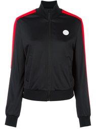 куртка-бомбер с логотипом MSGM