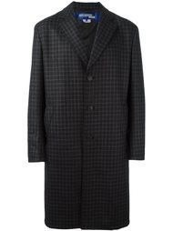 пальто в клетку  Junya Watanabe Comme Des Garçons Man