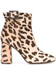 леопардовые ботинки по щиколотку L'Autre Chose