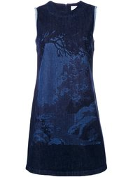 платье шифт с принтом Victoria Victoria Beckham