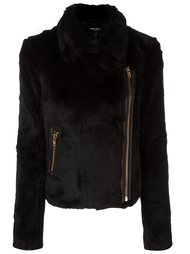 textured biker jacket Muubaa