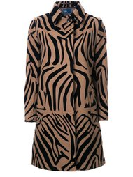 animal print coat Kolor