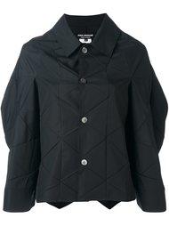 объемная куртка с геометрическим узором Junya Watanabe Comme Des Garçons