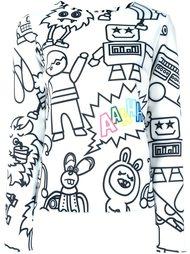 толстовка с принтом 'cartoon characters' Mira Mikati