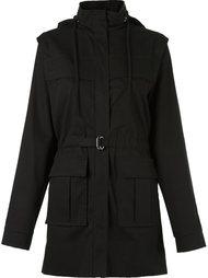 removable hood and sleeves coat Gloria Coelho