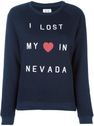 толстовка 'I Lost My Love In Nevada'  Zoe Karssen