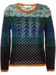 фактурный вязаный свитер  Vanessa Bruno