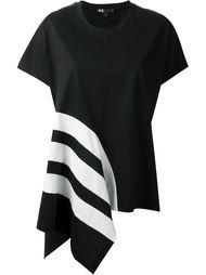 асимметричная футболка  Y-3
