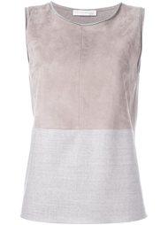 colour block sleeveless blouse Fabiana Filippi