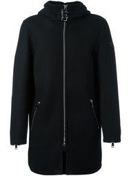 пальто на молнии с капюшоном Armani Jeans