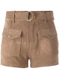 шорты с накладными карманами Frame Denim