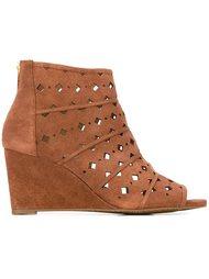 'Uma' wedge boots Michael Michael Kors