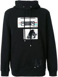 'tape' print sweatshirt Cy Choi