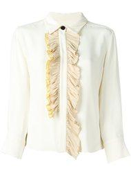 блузка с оборками Marni