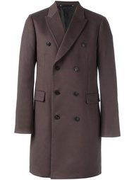 двубортное пальто миди Paul Smith London