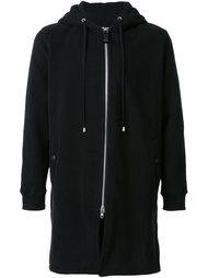long zipped hoodie Cy Choi