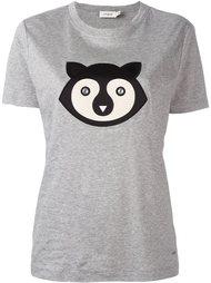 футболка с заплаткой в виде животного  Coach
