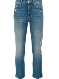 mid-rise cropped jeans Mother