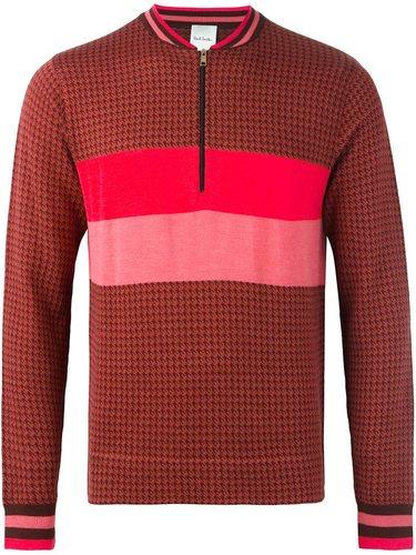 пуловер с полосатым принтом Paul Smith London