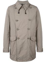 двубортное пальто Aspesi