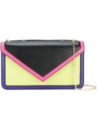 colour block cross-body bag  Emporio Armani