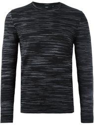 пуловер с полосатым принтом Boss Hugo Boss