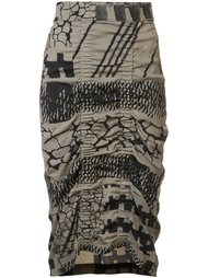 'Gemma Blanket' skirt Zero + Maria Cornejo