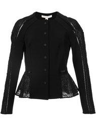 macrame detailing cropped jacket Jonathan Simkhai