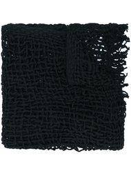 chunky knit scarf  Yohji Yamamoto