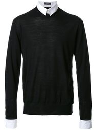 свитер-рубашка  Undercover