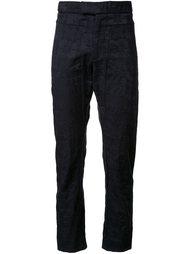 жаккардовые костюмные брюки Assin