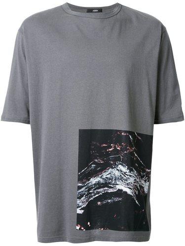 футболка с абстрактным принтом Assin