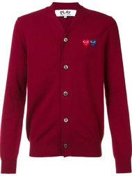 кардиган 'Double Heart' Comme Des Garçons Play
