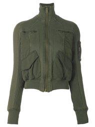 укороченная куртка с накладными карманами Haider Ackermann