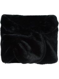 широкий шарф Armani Collezioni