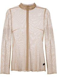 сетчатая блузка Undercover