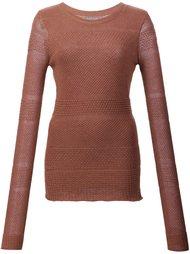 свитер с круглым вырезом  Maiyet