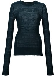 свитер свободной вязки Maiyet