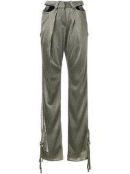 брюки с вырезами  Esteban Cortazar