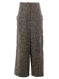 cropped trousers  Anrealage