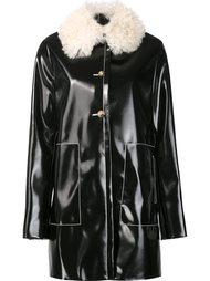 пальто с меховым воротником Proenza Schouler