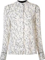 блузка с узором Proenza Schouler