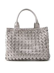 плетеная сумка-тоут  Serpui