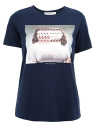 distorted photo print T-shirt Undercover