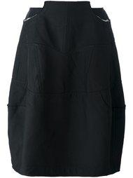 юбка с панельным дизайном Comme Des Garçons