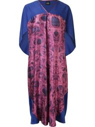 abstract print pleated midi dress Fernanda Yamamoto
