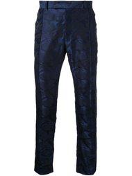 брюки с камуфляжным рисунком Strateas Carlucci