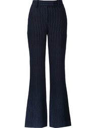 striped velvet trousers Peter Pilotto
