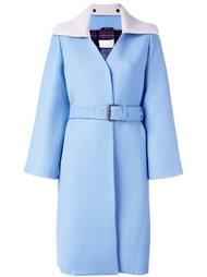 вязаное пальто с поясом  Maison Margiela