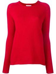 свитер с круглым вырезом   6397